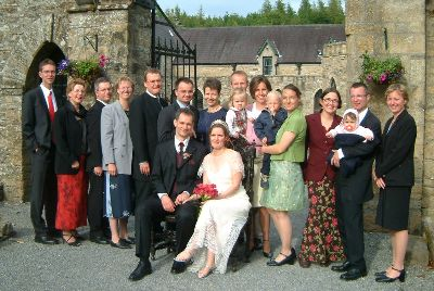 Cat & Axel heiraten - Irland 28-06-03